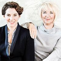 Teresa Zimmermann und Jeanny Gucher